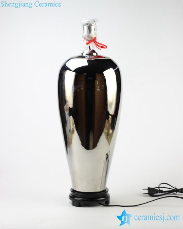 ds82-rykb119-h_1952golden/silver trophy shape ceramic book lamp from shengjiang company