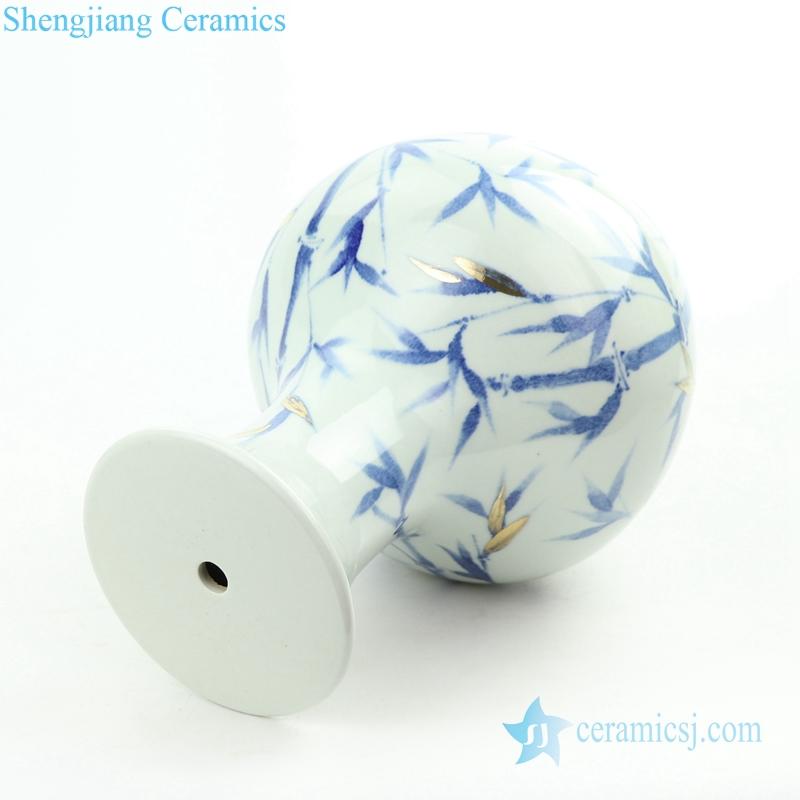 simple bamboo porcelain lamp body