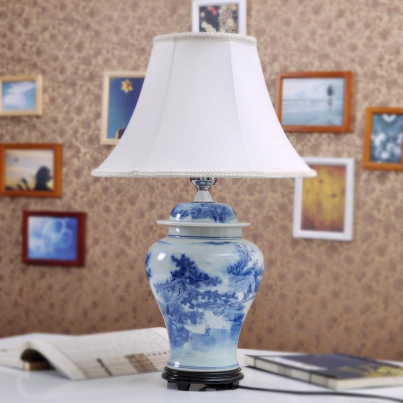China Handmade Ceramic Lamp