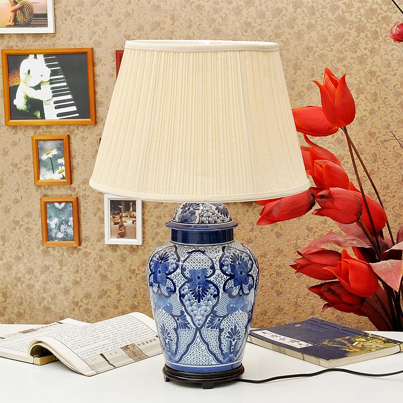 TYLP44China Blue and white Ceramic Table Lamp