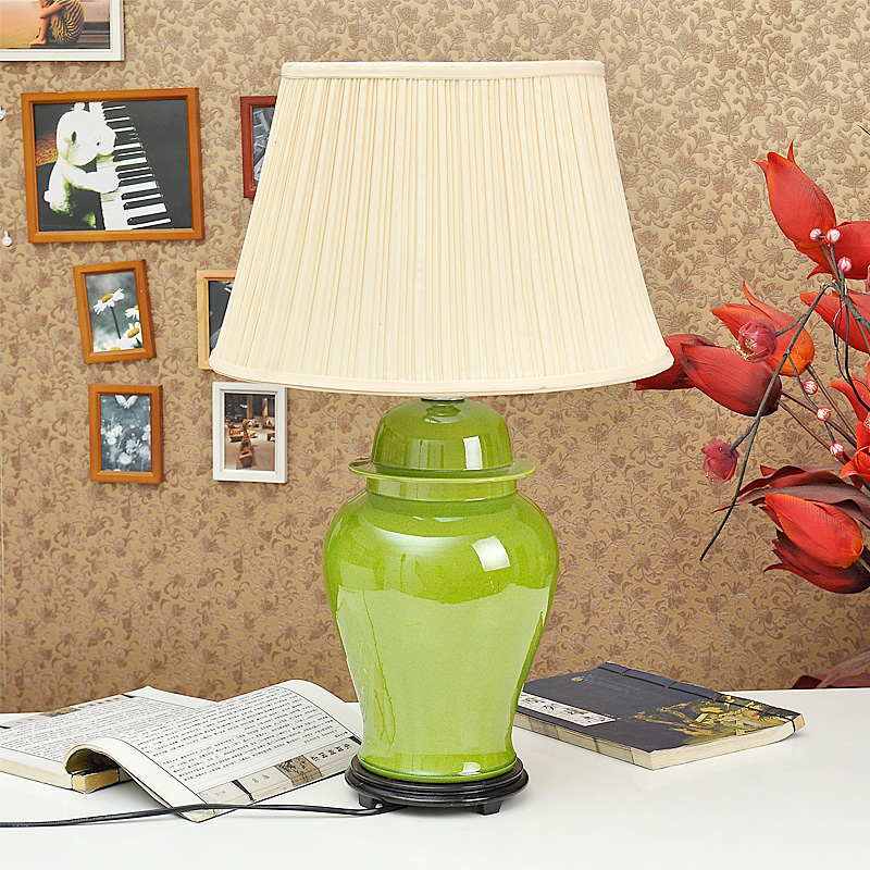 TYLP51Bright Plain Color Porcelain  Lamps