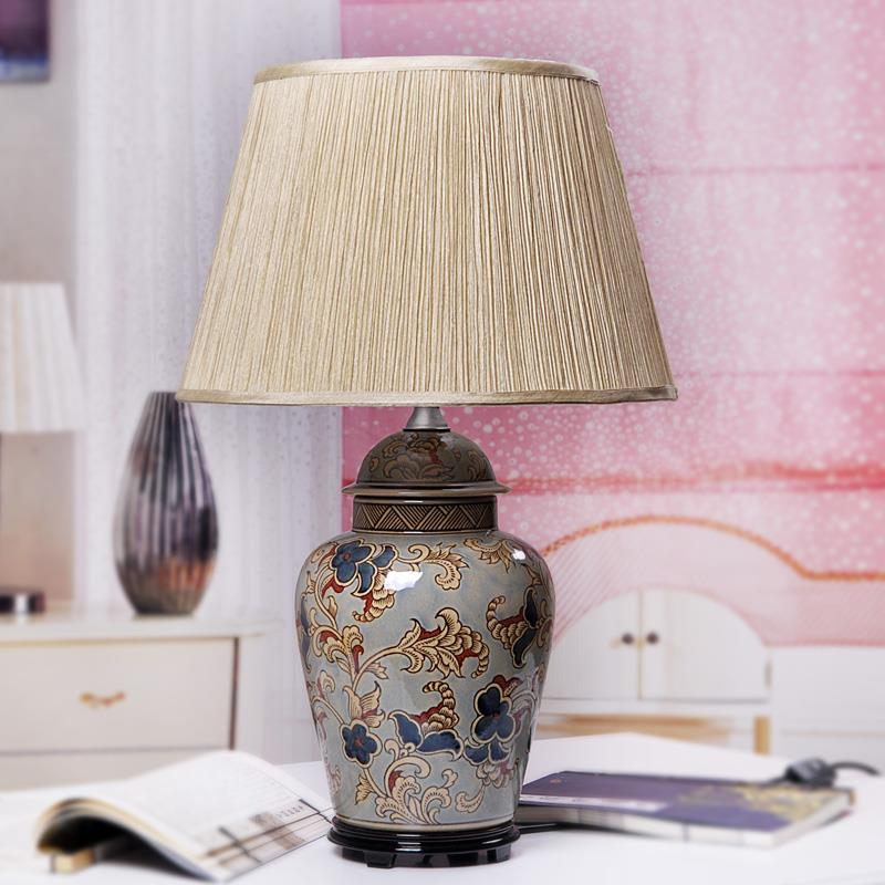 TYLP87Modern style Ginger Jar Table Ceramic  Lamp