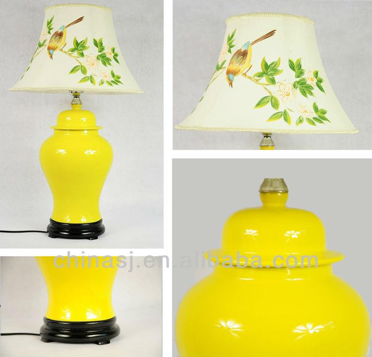 LPTY29 Bright Plain Color Ceramic Lamps