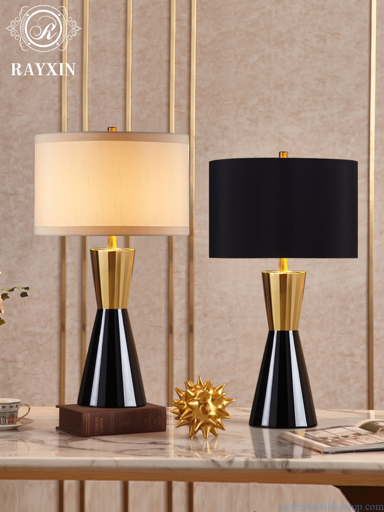 unique shape elegant decorative ceramic table lamp