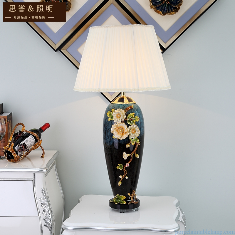 coffee table luxury glass hotel lobby warm light remote control lamp